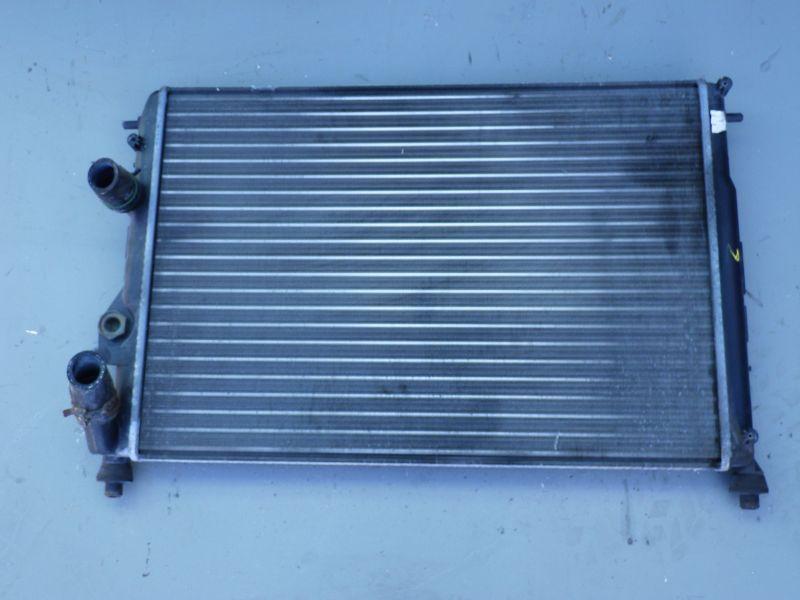 Kühler Wasserkühler Motor Motorkühler Fz. mit Klima Gitterm.590x415x25mmRENAULT MEGANE CLASSIC (LA0/1_) 1.6 16V (LA04, L