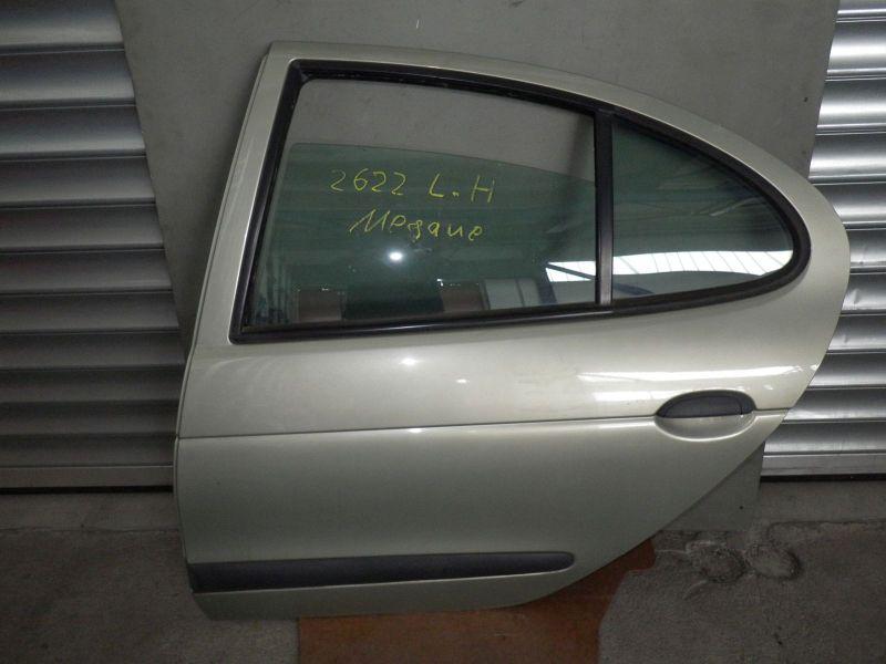 Tür hinten links komplett/mechanischer FensterheberRENAULT MEGANE I (BA0/1_) 1.6 16V (BA11, BA04, B