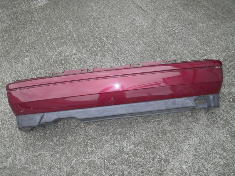 Stoßfänger hinten hotchillirot (LC3L)VW GOLF III (1H1) 1,8