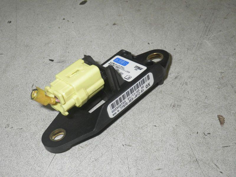Sensor Airbag, Crashsensor, Seite linksHONDA ACCORD VII TOURER (CM) 2.0