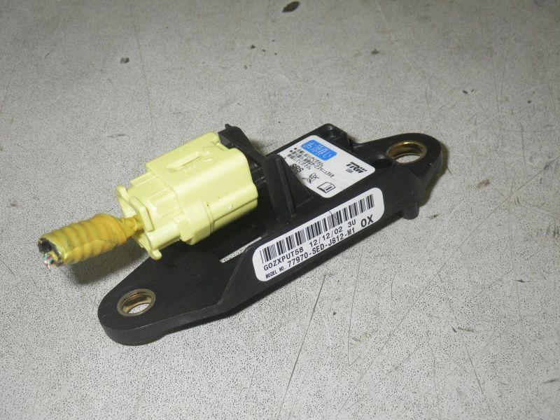 Sensor Airbag, Crashsensor, Seite rechtsHONDA ACCORD VII TOURER (CM) 2.0