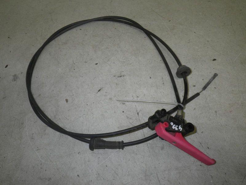 Bowdenzug für Öffnung Motorhaube mit HebelCITROEN BERLINGO KASTEN (M_) 1.9 D 70