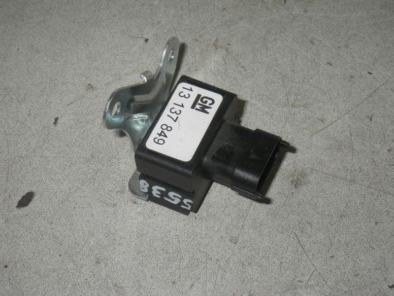 Sensor Airbag, Querbeschleunigung, hinten rechtsOPEL ZAFIRA B (A05) 2.0