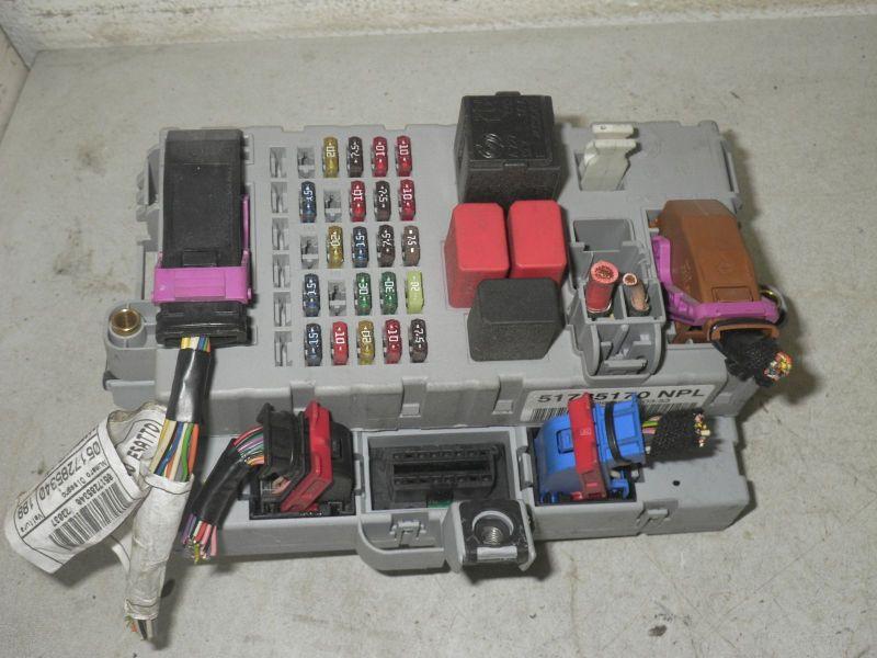 Sicherungsdose Sicherungskasten bestücktFIAT PUNTO (188_) 1.2 60