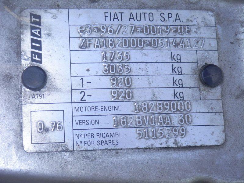 FIAT BRAVA (182) 1.2 16V 80