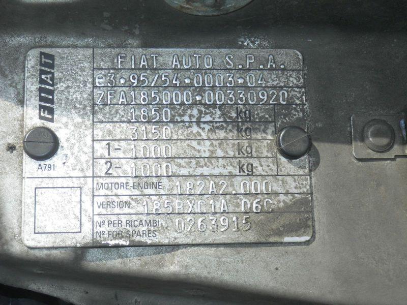 FIAT MAREA WEEKEND (185) 1.4 80 12V