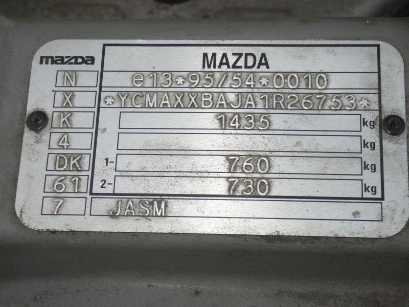 MAZDA 121 III (JASM, JBSM) 1.3