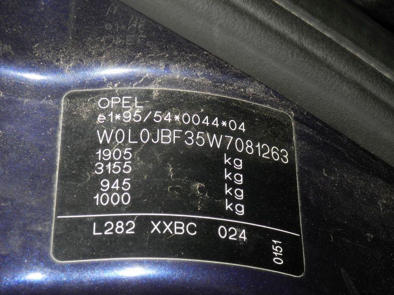 OPEL VECTRA B CARAVAN (31_) 1.8I 16V